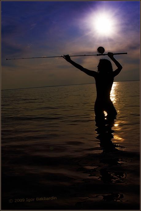 от заката до рассвета на рыбалке был я