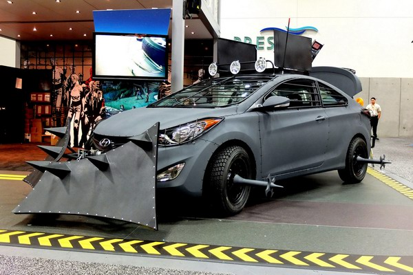 Elantra Coupe Zombie Survival Machine