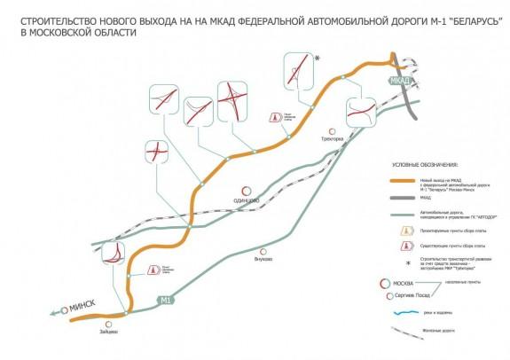 автодороги М1 «Беларусь»